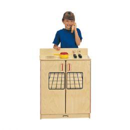Wholesale JontI-Craft School Age Natural Birch Play Kitchen Stove