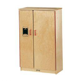 Wholesale JontI-Craft School Age Natural Birch Play Kitchen Refrigerator