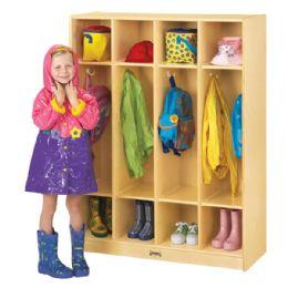 Wholesale JontI-Craft 4 Section Coat Locker