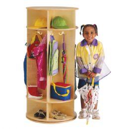 Wholesale JontI-Craft Revolving 5 Section Coat Locker