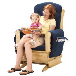 JontI-Craft Glider Rocker - Blue Cushions - Toddlers Infants