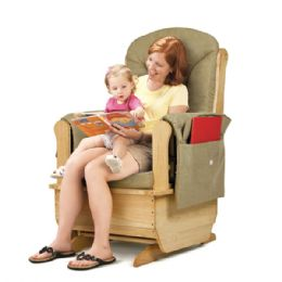 JontI-Craft Glider Rocker - Olive Cushions - Toddlers Infants