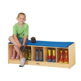 Wholesale JontI-Craft 5 Section Bench Locker - Camel Cushion
