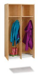 Wholesale JontI-Craft 2 Section Hanging Locker - Without Tubs