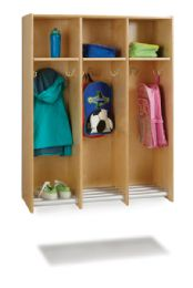 Wholesale JontI-Craft 3 Section Hanging Locker - Without Tubs