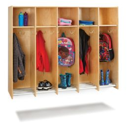 Wholesale JontI-Craft 5 Section Hanging Locker - Without Tubs