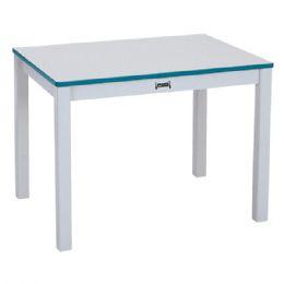 "Wholesale Rainbow Accents MultI-Purpose Rectangle Table - 20"" High - Orange"