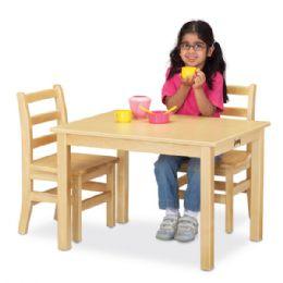 "Wholesale JontI-Craft MultI-Purpose Rectangle Table - 24"" High - White"