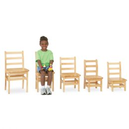 "Wholesale JontI-Craft Kydz Ladderback Chair Pair - 10"" Height"