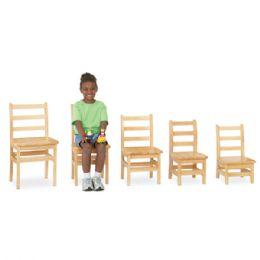 "Wholesale JontI-Craft Kydz Ladderback Chair Pair - 14"" Height"