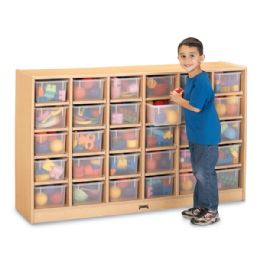 Wholesale Maplewave 30 CubbiE-Tray Mobile Storage - Without Trays