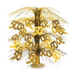 6 of 50  Cascade Centerpiece Gold