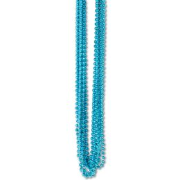 720 Wholesale Bulk Party Beads - Small Round Turquoise
