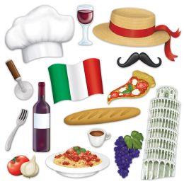 12 Wholesale Italian Photo Fun Signs Prtd 2 Sides