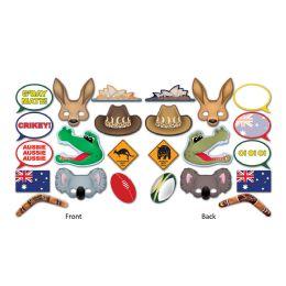 12 Wholesale Australian Photo Fun Signs Prtd 2 Sides W/different Designs