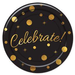 12 Wholesale Celebrate! Plates