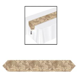12 Wholesale Printed Around The World Table Runner