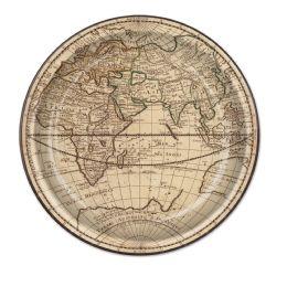 12 Wholesale Around The World Plates