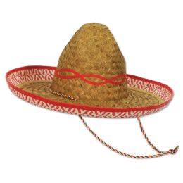 48 Units of Sombrero One Size Fits Most - Party Hats & Tiara