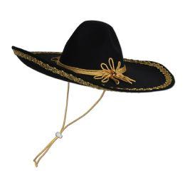 6 Units of Felt Sombrero One Size Fits Most - Party Hats & Tiara