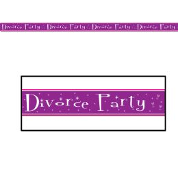 12 Wholesale Divorce Party Party Tape AlL-Weather Poly Material