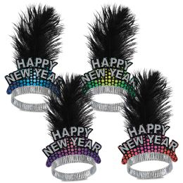 50 Wholesale Cheers To The New Year Tiaras Asstd Colors