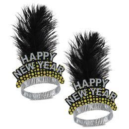 50 Wholesale Silver & Gold Cheers To The Ny Tiara