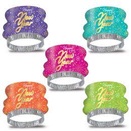 50 Wholesale Neon Burst Tiaras Asstd Colors