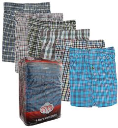 48 Units of Boxer Shorts Single Pack Size M Pack Of 1 - Mens Underwear