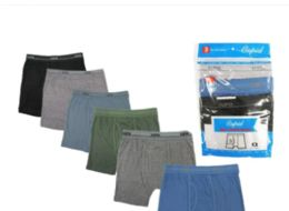 36 Units of Boy's Cotton Boxer Briefs Size M - Boys Underwear