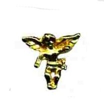 96 Units of Brass Hat Pin, Angel - Hat Pins & Jacket Pins