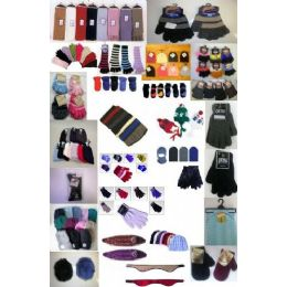 3600 Units of Cold Weather Pallet Deal - Winter Gear