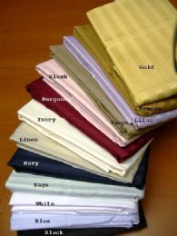 8 Units of Egyptian Cotton Pillowcase In Burgandy - Pillow Cases