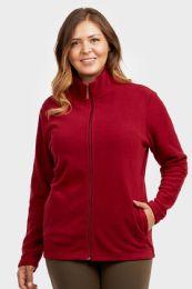 12 Units of ET TU LADIES POLAR FLEECE JACKET PLUS SIZE-3XL - Women's Winter Jackets