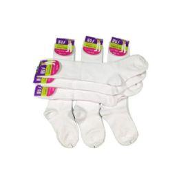 144 of Girls KneE-Length School Uniform Sock Size 6-8