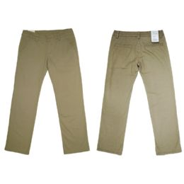 12 Units of Girls Stretch Adj. Waist Twill School Pants Size 10 - Girls Jeans