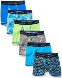 36 Units of Hanes Boys Boxer Brief Assorted Prints Size Large - Boys Underwear