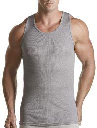 Hanes Classics Men's Gray Tagless Comfortsoft Dyed A-Shirt 3-Pack Size L - Mens T-Shirts