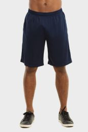 24 Units of Knocker Mens Athletic Shorts In Navy Size M - Mens Shorts