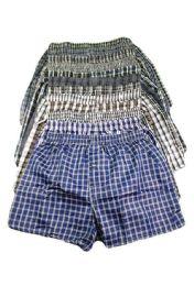 204 Units of Men's Boxer Shorts Size M - Mens Underwear