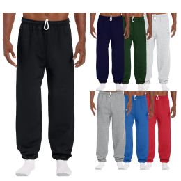 144 of Men's Gildan Sweatpants Assorted Sizes And Colors