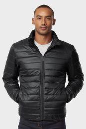 12 of Men's Puff Jacket In Black Size Medium