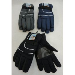360 Units of Men's Snow Gloves [solid Color] - Ski Gloves