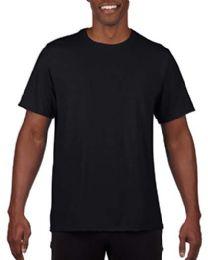 24 Bulk Mens Cotton Crew Neck Short Sleeve T-Shirts Black 2XL