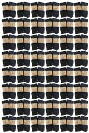 48 Bulk Yacht & Smith Men's Winter Thermal Crew Socks Size 10-13