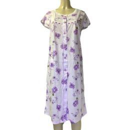 36 Units of Nines Ladys House Dress / Pajamas Assorted Colors Size Large - Women's Pajamas and Sleepwear