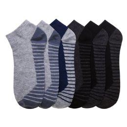 432 Units of POWER CLUB SPANDEX SOCKS (PODIUM) 4-6 - Mens Ankle Sock