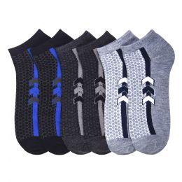 432 Units of POWER CLUB SPANDEX SOCKS (RECORD) 4-6 - Mens Ankle Sock