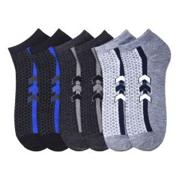 432 Units of POWER CLUB SPANDEX SOCKS (RECORD) 9-11 - Mens Ankle Sock