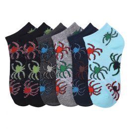 432 Units of POWER CLUB SPANDEX SOCKS (SWEB) 4-6 - Boys Ankle Sock